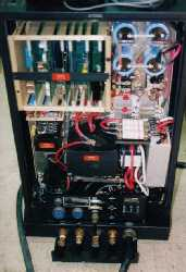 (Click To Zoom) interior of water-cooled DC plasma tube exciter