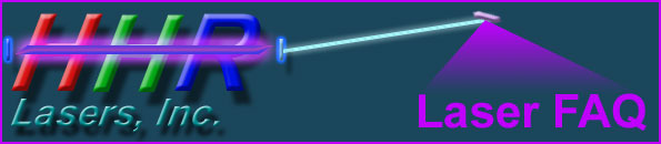 hhr laser faq: frequently asked questions concerning gas lasers